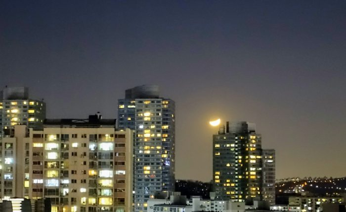 The Moon over Korea